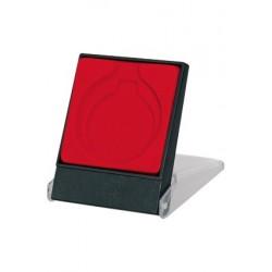 Czerwone etui na medal - H3/RD