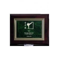 Dyplom drewniany MDF z tabliczką grawerowaną - HG225