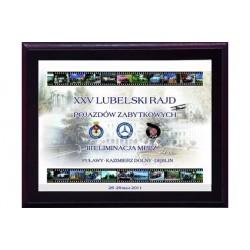 Dyplom drewniany z nadrukiem kolorowym - HG2655/G