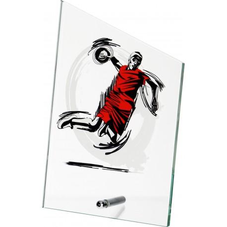 Szkło z dyscypliną - piłka ręczna SG1020/HAN