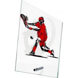 Szkło z dyscypliną - tenis ziemny SG1020/EART