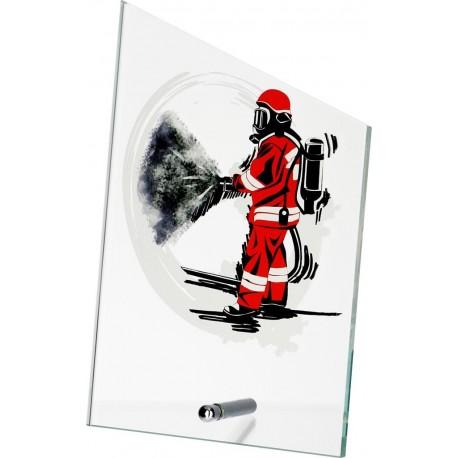Szkło z dyscypliną - strażak SG1020/FF