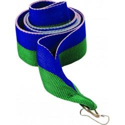"Wstążka do medalu - ""Niebiesko-Zielony"" 22 mm - V2-BL/GN"