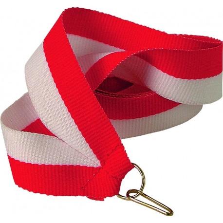 """Wstążka do medalu - """"Biało-czerwony"""" 11 mm - V8-W/R"""