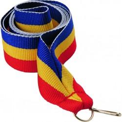 """Wstążka do medalu - """"Niebiesko-żółto-czerwony"""" 22 mm - V2-BL/Y/RD"""