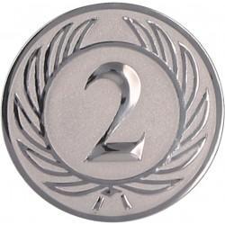Emblemat samoprzylepny srebrny - D2-A37