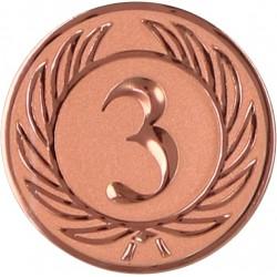 Emblemat samoprzylepny brązowy - D2-A38