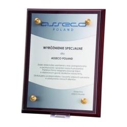Dyplom z tworzywa sztucznego z nadrukiem kolorowym - HG2055