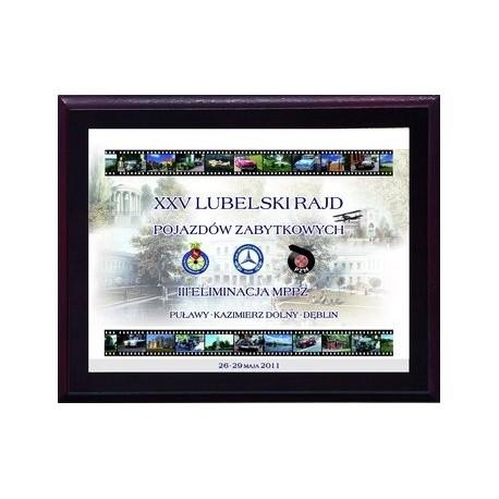 Dyplom drewniany z nadrukiem kolorowym - HG2651/G