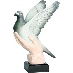 Figurka odlewana - gołębiarstwo - RFST2045-17