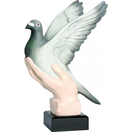 Figurka odlewana - gołębiarstwo - RFST2045-27