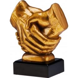 Figurka odlewana - ogólna - uścisk dłoni - RFST2089/G