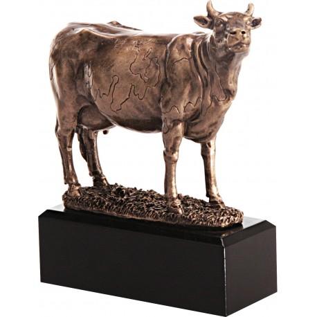 Figurka odlewana - rolnictwo - krowa - RFST2076/BR