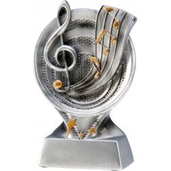 Figurka odlewana - muzyka - RS502