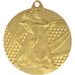 Medal złoty - taniec towarzyski - MMC7850/G