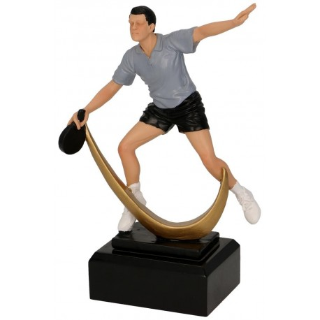 Figurka odlewana - tenis stołowy - RFST2104
