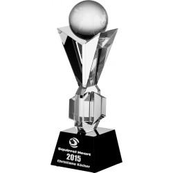 Statuetka okolicznościowa - trofea szklane z etui C027