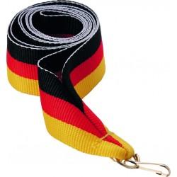 """Wstążka do medalu - """"Flaga Niemiec"""" 22 mm - V2-BK/R/Y"""