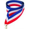 """Wstążka do medalu - """"Niebiesko-biało-czerwona"""" 22 mm - V2-BL/W/R"""