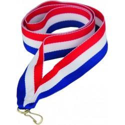 """Wstążka do medalu - """"Czerwony-biały-niebieski"""" 22 mm - V2-R/W/BL"""