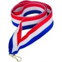 """Wstążka do medalu - """"Czerwony-biały-niebieski"""" 11 mm - V8-R/W/BL"""