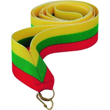 """Wstążka do medalu - """"Zółto-zielono-czerwony"""" 22 mm - V2-Y/GN/R"""