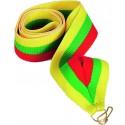 """Wstążka do medalu - """"Czerwono-zielono-żółty"""" 11 mm - V8-R/GN/Y"""
