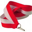 """Wstążka do medalu - """"Biało-czerwony"""" 22 mm - V2-W/R"""