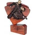 Figurka odlewana - taniec brązowa - RFEL5034/B/BR