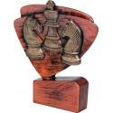 Figurka odlewana - szachy - brązowa - RFEL5029/B/BR