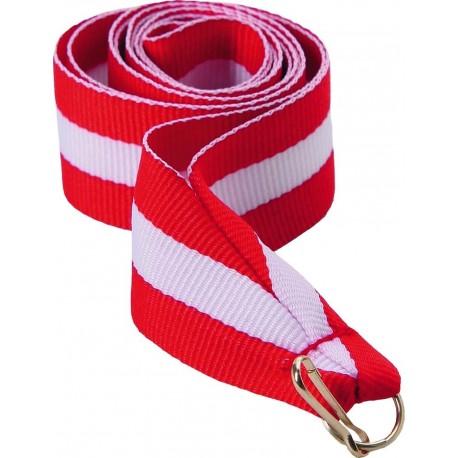 """Wstążka do medalu - """"Czerwono-biało-czerwony"""" 22 mm - V2-R/W/R"""