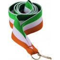 """Wstążka do medalu - """"Zielono-biało-pomarańczowy"""" 22 mm - V2-GN/W/O"""