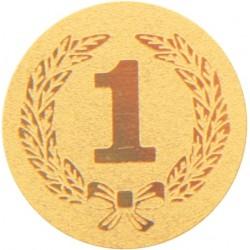 Emblemat samoprzylepny złoty - PS1-A36/G