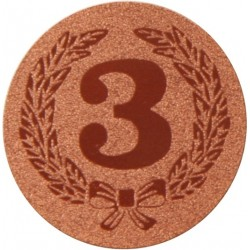 Emblemat samoprzylepny brązowy - PS1-A38/B