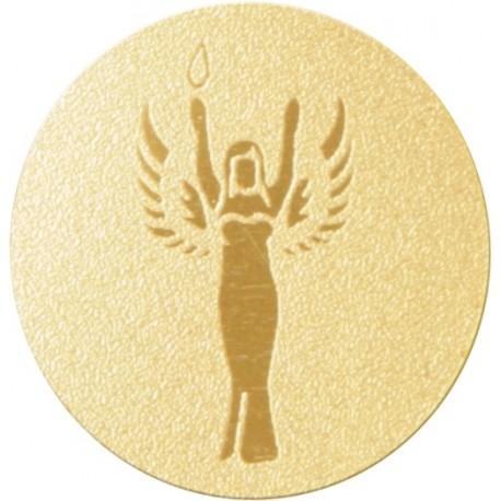 Emblemat samoprzylepny złoty - PS1-A41/G