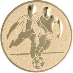 Emblemat samoprzylepny złoty - piłka nożna - D2-A1