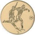 Emblemat samoprzylepny złoty - piłka nożna - D2-A2/G