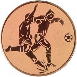 Emblemat samoprzylepny brązowy - piłka nożna - D1-A2/B