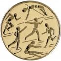 Emblemat samoprzylepny złoty - lekkoatletyka - D1-A29/G