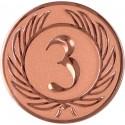 Emblemat samoprzylepny brązowy - D1-A38