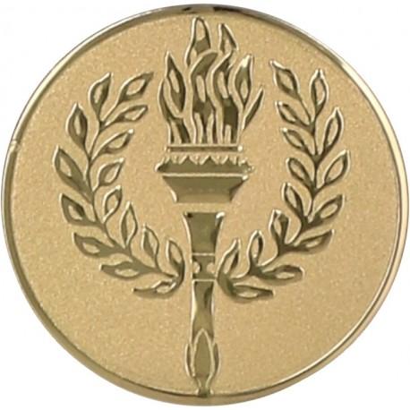 Emblemat samoprzylepny złoty - D1-A40