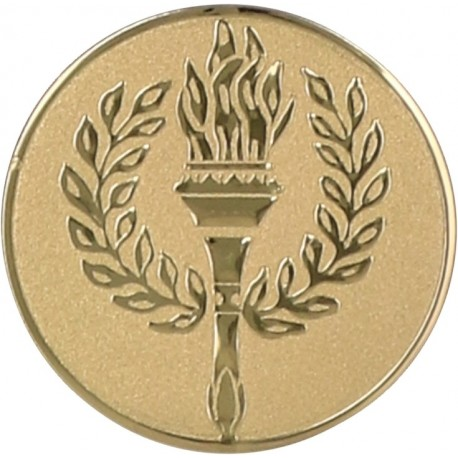 Emblemat samoprzylepny złoty - D2-A40
