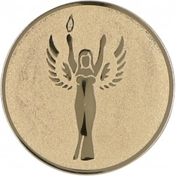 Emblemat samoprzylepny złoty - D2-A41/G