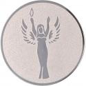Emblemat samoprzylepny srebrny - D1-A41/S