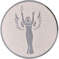 Emblemat samoprzylepny srebrny - D2-A41/S