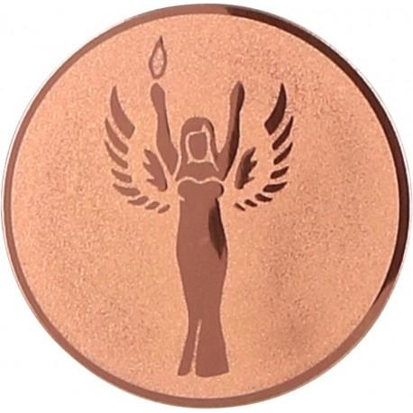 Emblemat samoprzylepny brązowy- D2-A41/B