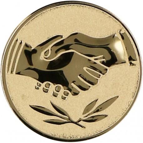 Emblemat samoprzylepny złoty - D2-A42