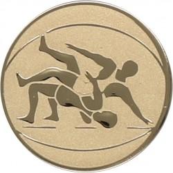 Emblemat samoprzylepny złoty - zapasy - D1-A61