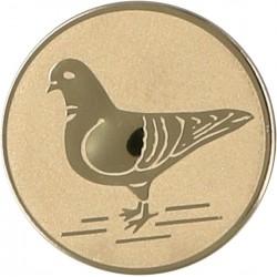 Emblemat samoprzylepny złoty - gołębiarstwo - D2-A64