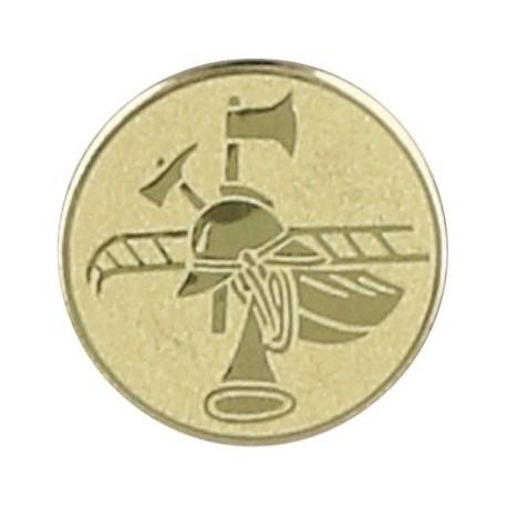 Emblemat samoprzylepny złoty - pożarnictwo - D1-A85